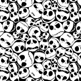 Disney Fabric Nightmare Before Christmas Fabric Jack Faces by The Yard