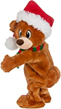 Gemmy Twerking Christmas Bear Bluetooth Plush – Compatible with Alexa