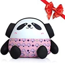 Solocar 7500mAh Cute External Battery Pack - Dual USB Portable Phone Charger - High-Speed Charging Technology Power Bank with Unique Panda Design (Pink)