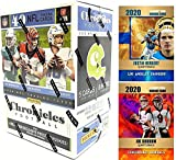 2020 Panini CHRONICLES Football Cards FACTORY SEALED Blaster Box with 40 Cards - Look for Justin Herbert, Joe Burrow and Tua Rookie Cards - Plus Custom Herbe... rookie card picture