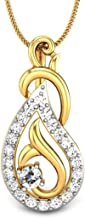 Candere By Kalyan Jewellers Yellow Gold Pendant for Women