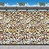 Beistle アッパーデッキスタジアム写真背景幕 4フィート x 30フィート 1個 マルチカラー