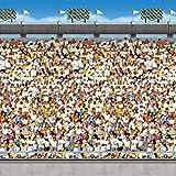 Upper Deck Stadium Backdrop Party Accessory (1 count) (1/Pkg)