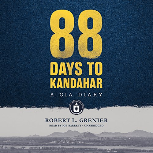 88 Days to Kandahar audiobook cover art