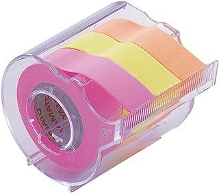 ヤマト 付箋 メモック ロールテープ カッター付き 15mm×10m RK-15CH-C
