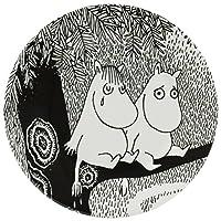 【正規輸入(フランス)】Petit Jour (プチジュール) ムーミン デザートプレート おいてけぼりのムーミンたち モノクロ PTJ060030