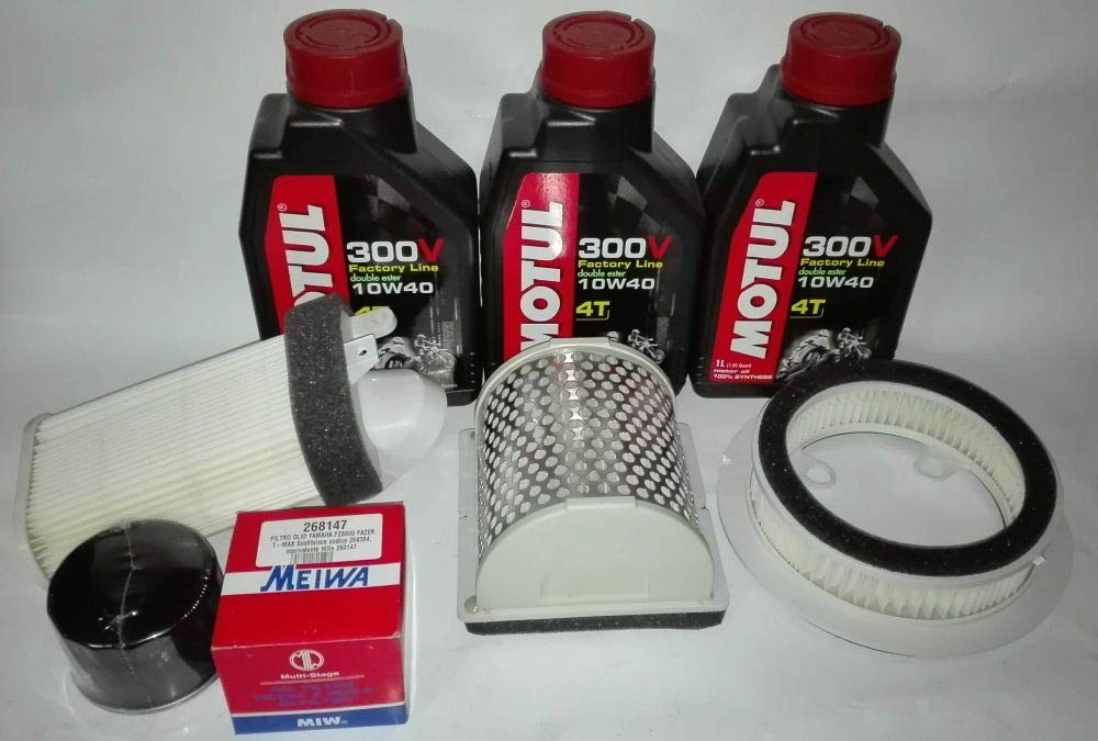 Kit de aceite + filtros para Yamaha T-Max 500 de 2001 A 2007 ...