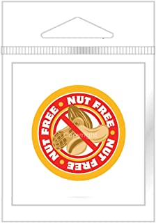 Nut Free Stickers