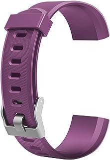 Demiawaking Armband Ersatz Zubehör für ID115Plus HR Smart Watch