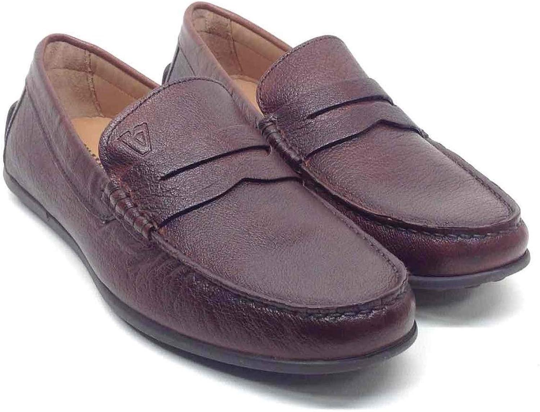 VALLEgrön 49863 Loafers Slipper Classic skor Mortise läder läder läder män svart  den nyaste