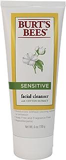 Burt's Bees, Cleanser Facial Sensitive, 6 Ounce