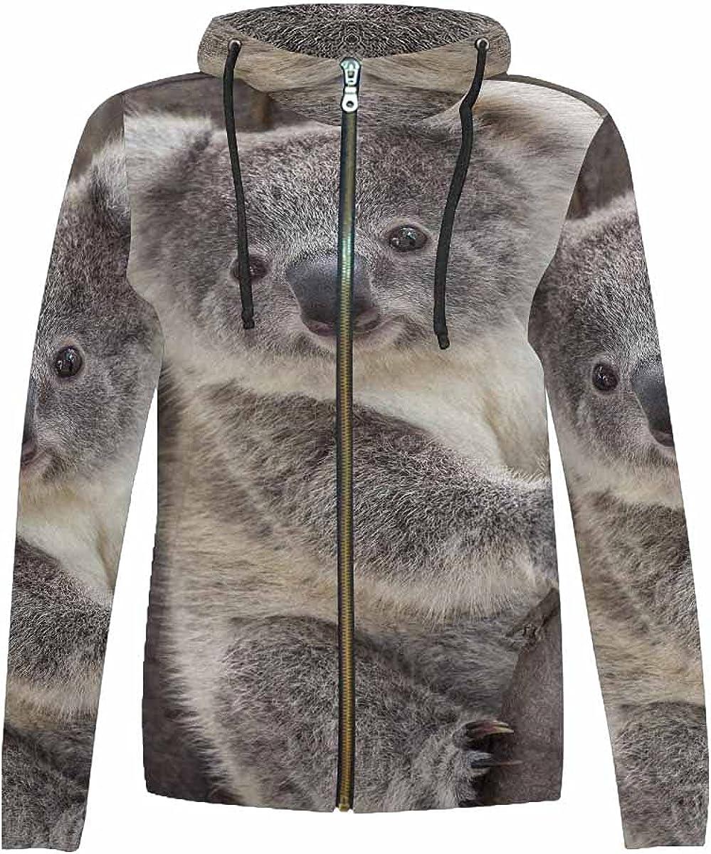 InterestPrint Stars, Space, Rainbow, Planets Full Zip Hoodie Hooded Jackets Sweatshirt for Boys Girls