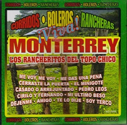 Amazon.com: Los Rancheritos del Topo chico: CDs & Vinyl