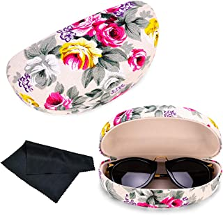 Gentle Sunglasses Case Box Portable Zipper Sunglasses Hard Eye Glasses Case Eyewear Protector Box Bag Cover Eyewear Accessories Long Performance Life Eyewear Accessories