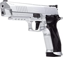 Sig Sauer X-Five CO2 Air Pistol, 20 Round, Silver