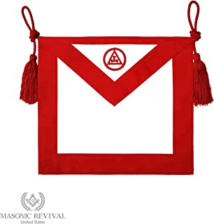 - Royal Arch Mason Chapter Member Apron (Synthetic Leather)