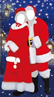 Christmas Photo Door Banner Backdrop Props - Xmas/Winter/Holiday Party Hanging Decorations/Supplies/Favors