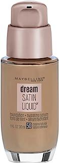 Maybelline New York Dream Satin Liquid Foundation (Dream Liquid Mousse Foundation), Creamy Natural, 1 fl. oz.