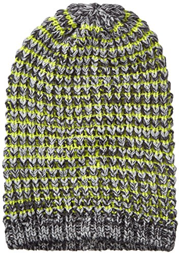 Myrtle Beach Fancy Hiver Hat Taille Unique Jaune/Noir - Carbon-Melange/Acid-Yellow