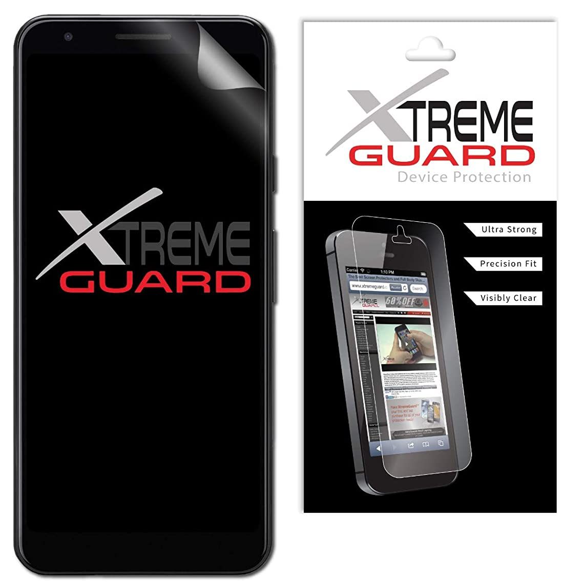 Premium XtremeGuard Screen Protector Cover for Google Pixel 3a XL (Ultra Clear)