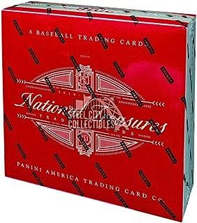 2018 Panini National Treasures Baseball Hobby Box - Baseball Player Sets