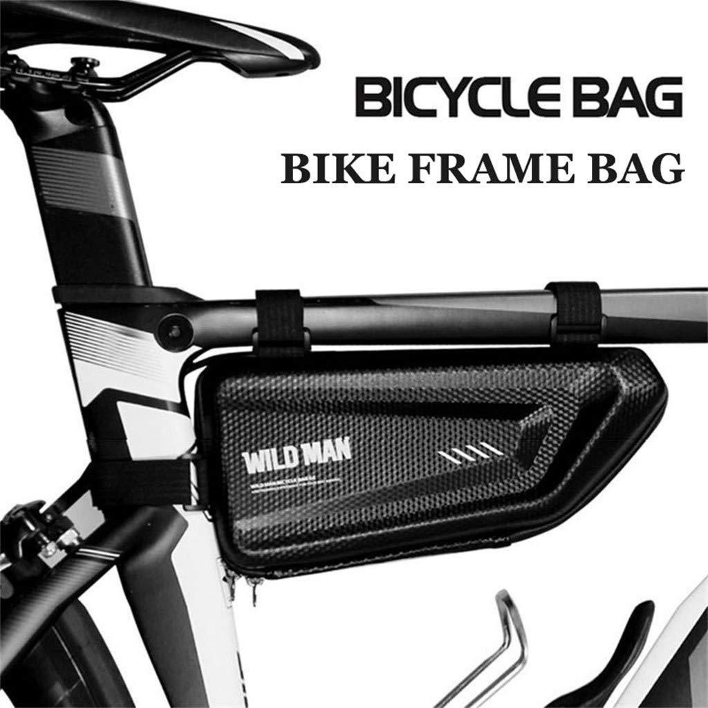 Vaycally Bolsa Bicicleta Cuadro Impermeable Bolso Manillar Bici ...
