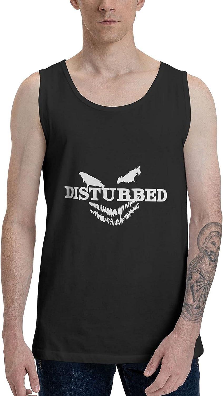 Disturbed Tank Top Man's Summer Sleeveless T Shirt Stylish Vest