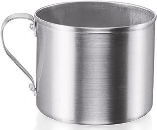 IMUSA USA R200-10WM Aluminum Mug for Stovetop Use or Camping 0.7 Quart, Silver