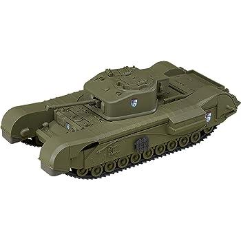 ねんどろいどもあ ガールズ&パンツァー 最終章 チャーチル歩兵戦車 Mk.VII ノンスケール ABS&PVC製 塗装済みフィギュア