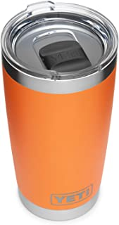 YETI Rambler 20 oz Tumbler, Stainless Steel, Vacuum Insulated with MagSlider Lid, King Crab