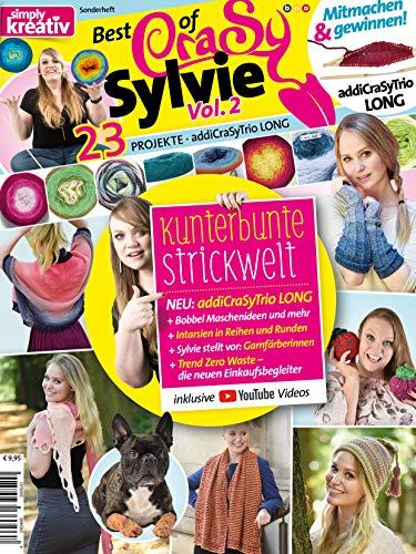 Best of Crasy Sylvie Vol. 2: Kunterbunte Strickwelt