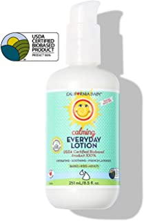 California Baby Calming Everyday Lotion (8.5 oz.) Moisturizer for Dry, Sensitive Skin | Post Bath and Diaper Changing | No...