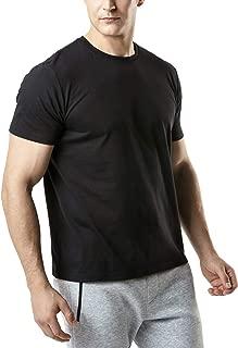 Tesla Men's HyperDri & Dynamic Cotton Short Sleeve Athletic T-Shirt Quick Dry Sports Top MTS Series
