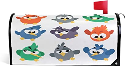 Angry Birds Magnetic Mailbox Cover Mail Wraps Letter Box Covers