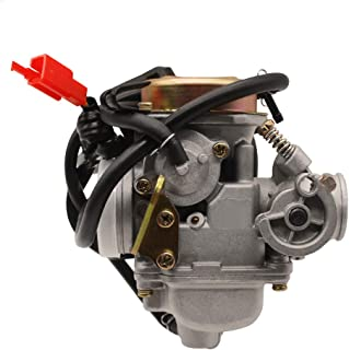 PUCKY Carburetor 125CC 150CC Scooter Moped ATV GO Kart Gy6 4-Stroke 24MM Carb
