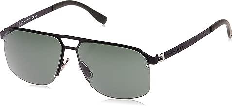 BOSS by Hugo Boss Men's B0839S Rectangular Sunglasses