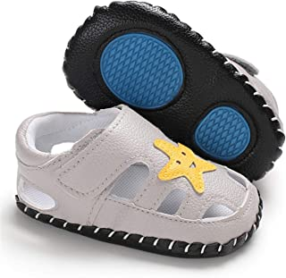CENCIRILY Infant Baby Unisex Sandals Summer Moccasins Loafer Flats Soft Sole Prewalker First Walking Leather Toddler Shoes