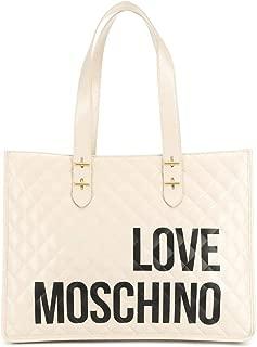 Luxury Fashion | Love Moschino Womens JC4210PP08KB0110 Beige Tote | Fall Winter 19