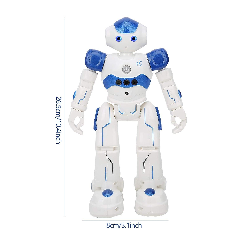 intelligentes Roboterspielzeug f/ür Kinder /über 8 Jahre singendes tanzendes Lernspielzeug f/ür Kinder Intelligentes Rc-Roboterspielzeug Kinder ferngesteuertes Roboterspielzeug Blau