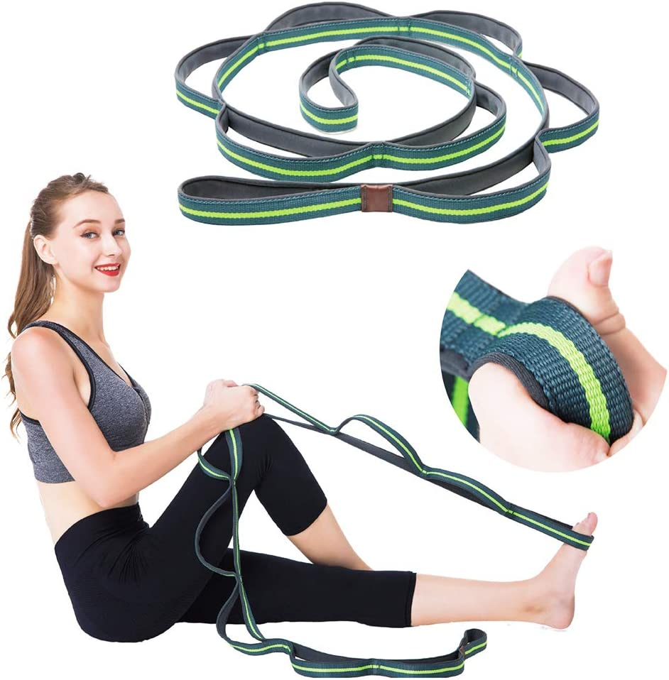 Tory Busa Stretching Strap Yoga with Austin Mall Straps N 10 Discount mail order for