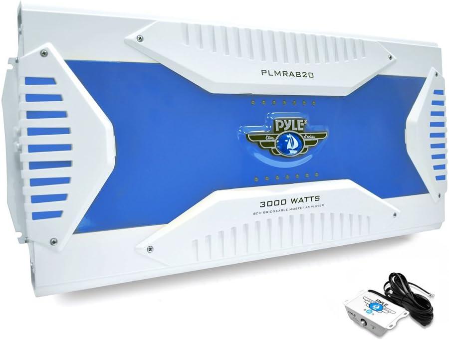 Elite Series- Pyle- 8 Channel HydraMarine Amplifier