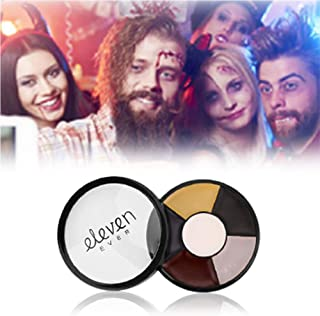 ELEVEN EVER Professional Face Body Paint Oil 6 Colors Painting Art Party Fancy Make Up Set,2