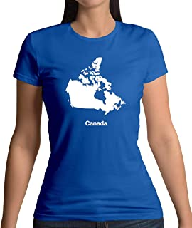Canada Silhouette - Womens T-Shirt - 13 Colours