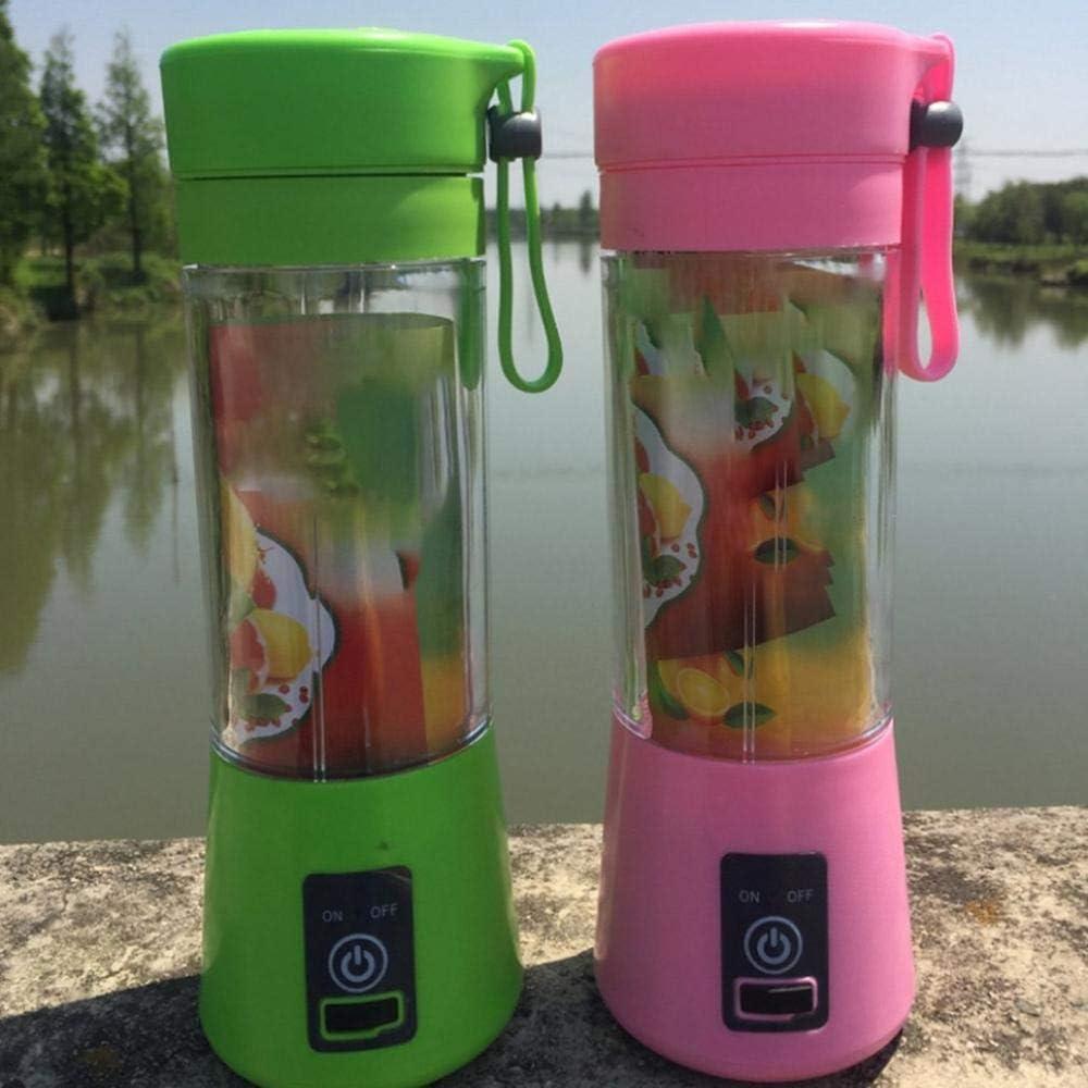 zyl Exprimidor Exprimidor eléctrico para el hogar Mini Taza de Jugo de Carga portátil Envasado en inglés púrpura Green