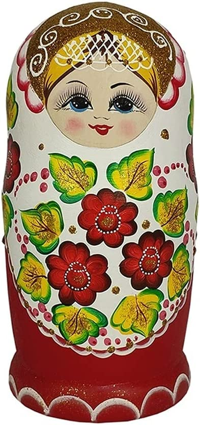 Max 85% OFF Russian Nesting Dolls 10-Piece Set Matr 100% quality warranty! Painted Traditional Hand