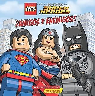 LEGO DC Super Heroes: ¡Amigos Y Enemigos! (Lego Dc Comics Super Heroes) (Spanish Edition)