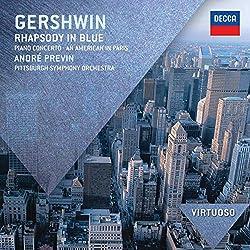 Gershwin: Rhapsody Blue Piano Concerto an American in Paris