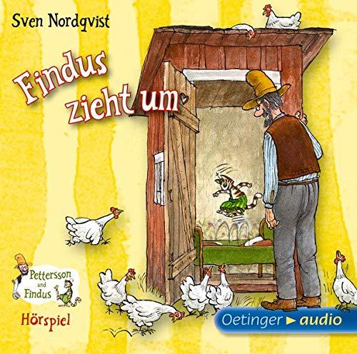 Pettersson und Findus. Findus zieht um: Hörspiel, 32 Min.