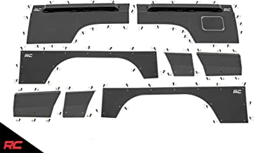 Rough Country Body Armor Quarter Panel Compatible w/ 1997-2001 Jeep Cherokee XJ Front Rear Upper Lower Full Kit 10581