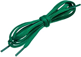 Oval Shoelaces 27 Colors Half Round 1/4